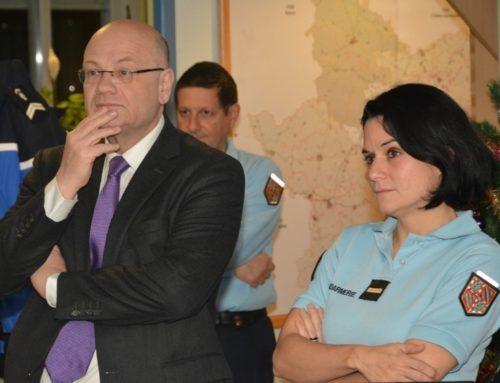 MÂCON : Le préfet et les élus ont fait la tournée des personnels de garde le 31 décembre