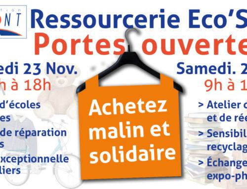 Portes ouvertes Ressourcerie Eco'Sol 2018