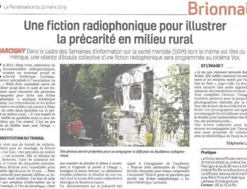 Fiction radiophonique pour illustrer la précarité en milieu rural