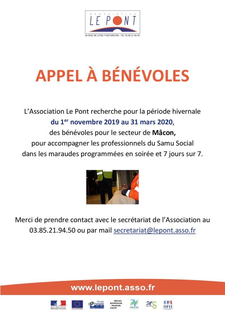 thumbnail of Appel aux bénévoles – Samu Social
