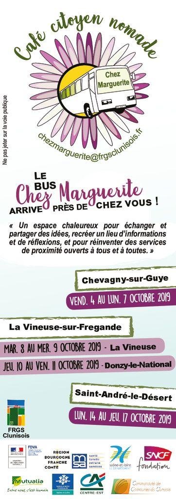 thumbnail of Flyers Marguerite arrive chez vous !