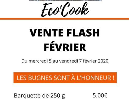 Vente de bugnes à Eco'Cook