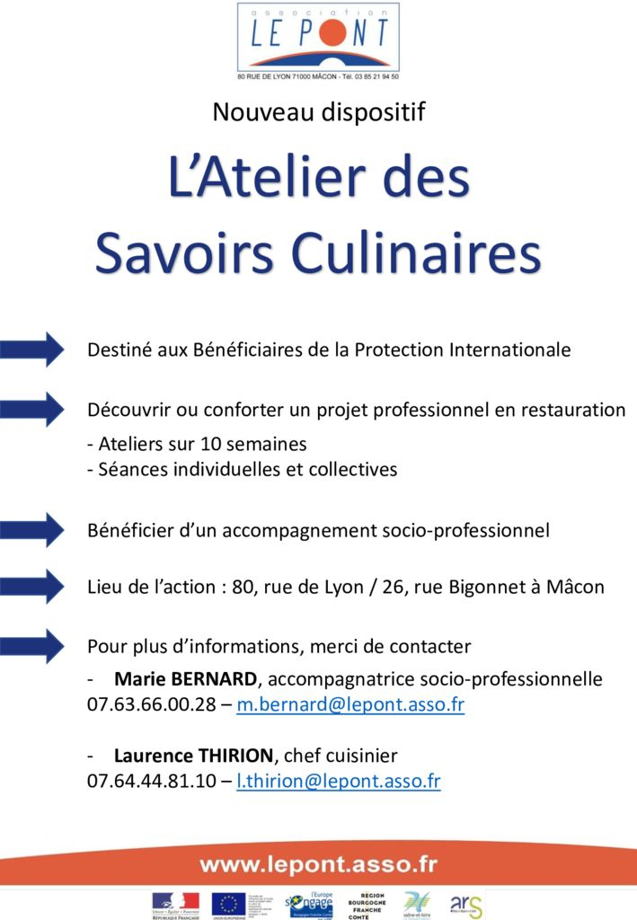 thumbnail of plaquette savoirs culinaires