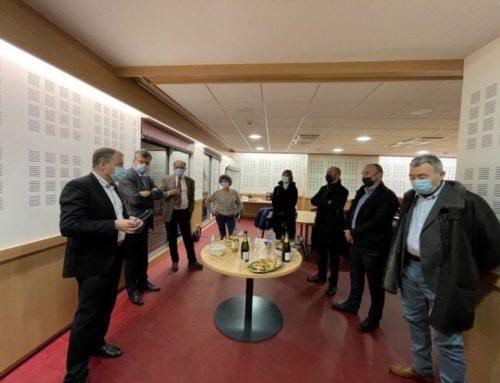 Le Préfet et les élus visitent les services d'urgence