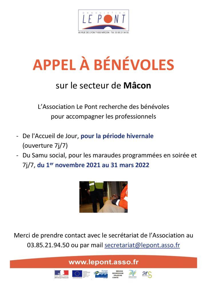 thumbnail of Appel aux bénévoles – Samu Social et AJ